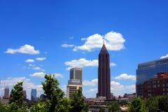 Torres da cidade imagem de stock