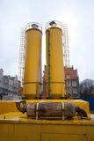 Torres da construção Fotografia de Stock Royalty Free