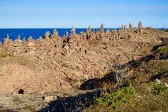 Torres da pedra calcária Imagens de Stock