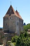Torres da porta de Narbonne Imagens de Stock