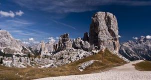 Torres da rocha Fotografia de Stock