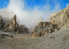 Torres da rocha Imagens de Stock