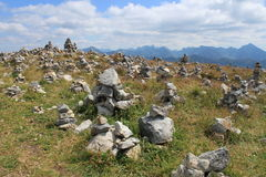 Torres da rocha Fotos de Stock