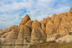 Torres da rocha de Cappadocia Imagem de Stock Royalty Free