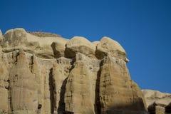 Torres da rocha de Cappadocia, Turquia Imagens de Stock