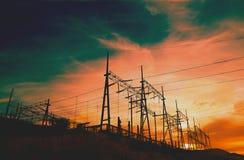 Torres da transmissão Imagens de Stock