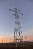 Torres #12 das linhas elétricas Fotografia de Stock Royalty Free
