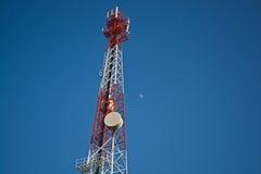 Torres das telecomunicações imagens de stock