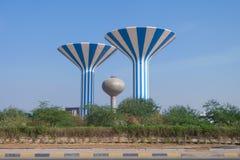 Torres de água de Kuwait Imagens de Stock Royalty Free