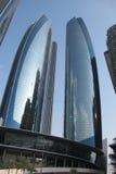Torres de Abu Dhabi Etihad foto de archivo libre de regalías