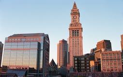 2000 torres de aduanas, Boston, mA Fotos de archivo