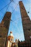 Torres de Asinelli Fotos de archivo
