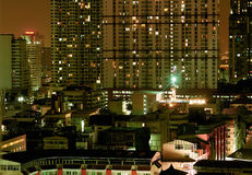 Torres de Bangkok Fotos de archivo