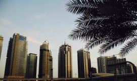 Torres de Dubai fotos de archivo