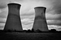 Torres de enfriamiento de Willington Foto de archivo libre de regalías