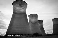 Torres de enfriamiento de Willington Fotografía de archivo