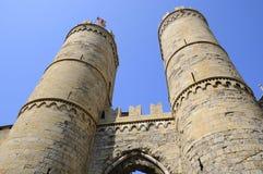 Torres de Génova Foto de archivo libre de regalías