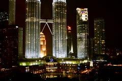Torres de gêmeos de Kuala Lumpur Imagens de Stock Royalty Free