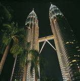 Torres de gemelos Foto de archivo