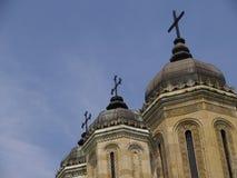 Torres de iglesia Imagen de archivo libre de regalías