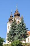 Torres de iglesia - Tihany Foto de archivo libre de regalías