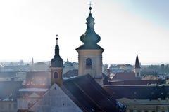 Torres de igreja velhas Foto de Stock Royalty Free