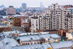 Torres de Kiev Foto de archivo