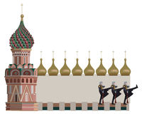 Torres de Kremlin Fotos de archivo libres de regalías