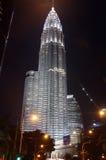 Torres de Kuala Lumpur Petronas Foto de archivo libre de regalías