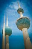 Torres de Kuwait Foto de Stock Royalty Free
