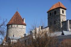Torres de la ciudad Imágenes de archivo libres de regalías