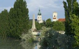 Torres de la ciudad Fotos de archivo