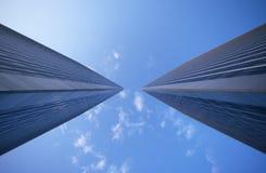 Torres de la ciudad del siglo, Los Ángeles, CA fotografía de archivo libre de regalías