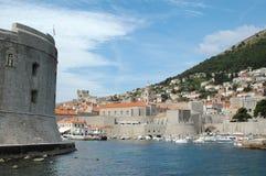 Torres de la ciudad vieja Dubrovnik, Croacia Fotografía de archivo libre de regalías