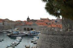 Torres de la ciudad vieja Dubrovnik, Croacia Fotos de archivo libres de regalías