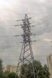 Torres de la electricidad Fotografía de archivo