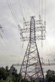 Torres de la electricidad Fotografía de archivo libre de regalías