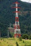 Torres de la electricidad, garganta Oregon del río de Colombia. Foto de archivo libre de regalías