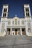 Torres de la iglesia ortodoxa Fotos de archivo