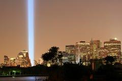 Torres de la luz Imagen de archivo libre de regalías