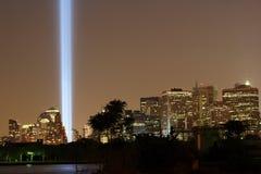 Torres de la luz Fotografía de archivo libre de regalías