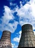 Torres de la refrigeración por agua Imagen de archivo