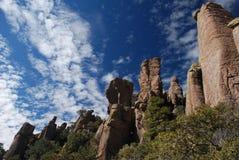 Torres de la roca Imágenes de archivo libres de regalías