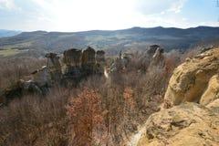 Torres de la roca Foto de archivo libre de regalías