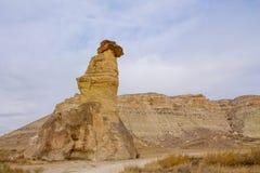 Torres de la roca de Cappadocia Fotografía de archivo