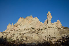Torres de la roca de Cappadokia Imagen de archivo libre de regalías