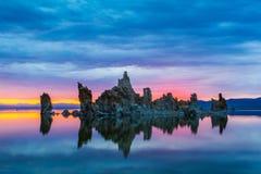 Torres de la toba volcánica Fotografía de archivo libre de regalías