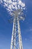 Torres de la transmisión de la electricidad sin los alambres Fotos de archivo libres de regalías