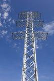 Torres de la transmisión de la electricidad sin los alambres Fotografía de archivo