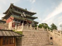Torres de la visión del río de Nanjing Imagen de archivo libre de regalías